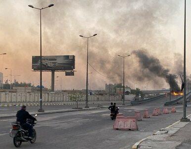Seria ataków rakietowych w Iraku. Pociski spadły m.in. przy ambasadzie USA