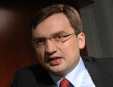 """Ziobro chce walczyć z korupcją. """"To będzie bój o Polskę"""""""