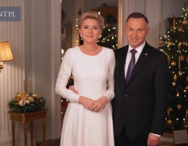 """Prezydent i Pierwsza Dama złożyli Polakom życzenia. """"Niech nikt nie..."""