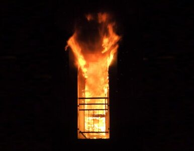 W Turcji płonie luksusowy wieżowiec. Ewakuowano setki osób