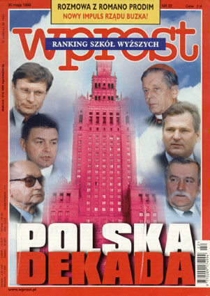 Okładka tygodnika Wprost nr 22/1999 (861)