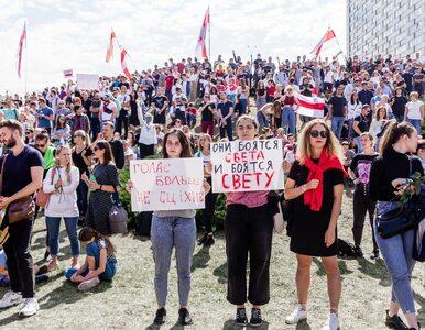 Ogromna antyrządowa demonstracja w Mińsku. To największy wiec w historii...