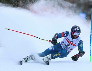 Groźny wypadek podczas slalomu giganta. 31-letni zawodnik Tommy Ford w...