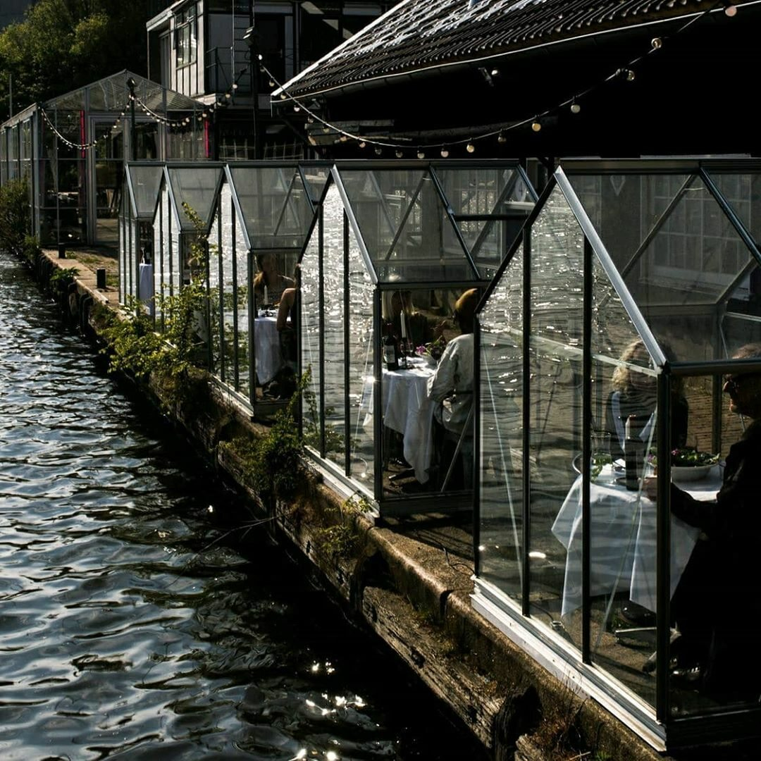 Restauracja Mediamatic Eten  w Holandii