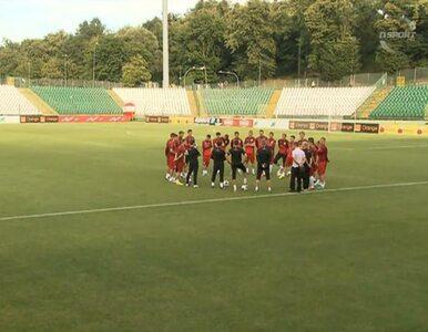 Kadra szykuje się na mecz z Danią. Zobacz trening