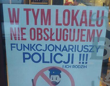 Restauracja nie obsługuje policjantów i ich rodzin. Mimo to uniknie kary?