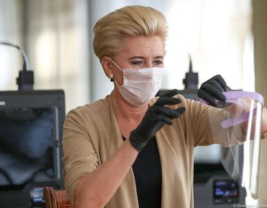 Agata Kornhauser-Duda zaangażowała się w walkę z koronawirusem. Do sieci...