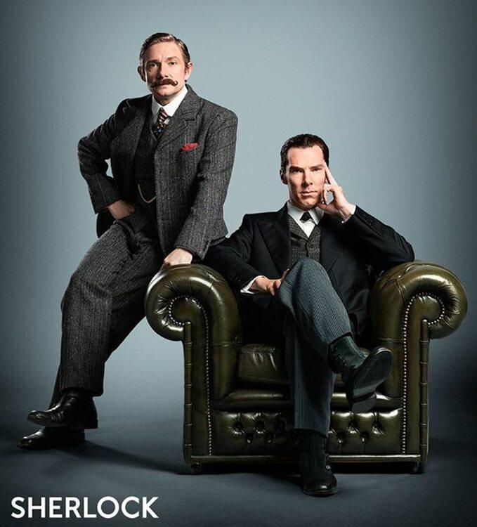 Comic Con -Sherlock