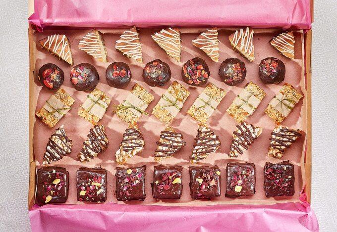 Party Box słodkości wegańskie