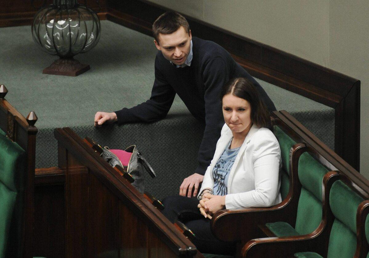Karolina i Tomasz Elbanowscy (fot.Damian Burzykowski/newspix.pl)