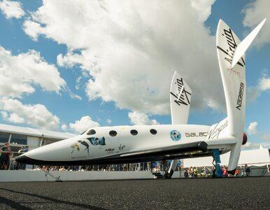 Pierwsze komercyjne loty w kosmos już za rok? Tak zapowiada Virgin Galactic