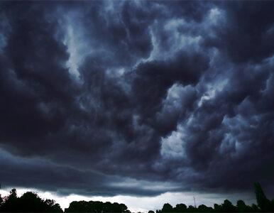 Pogoda na środę - burze, deszcz i wiatr. Będzie chłodno