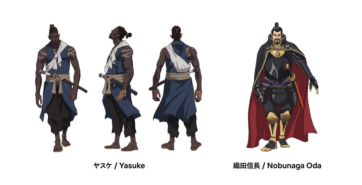 """Szkice do serialu """"Yasuke"""""""