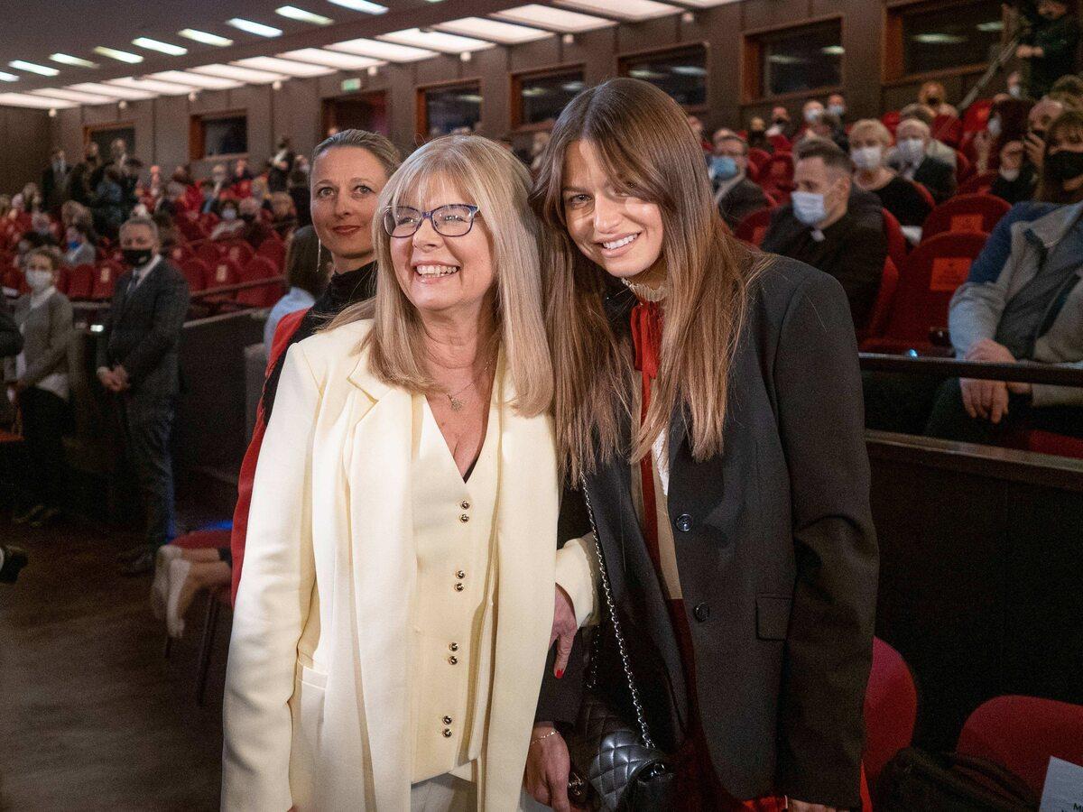 Anna Lewandowska z mamą – Marią Stachurską
