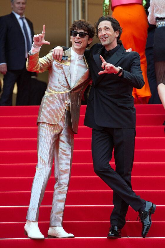 Timothee Chalamet i Adrien Brody
