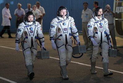Wystartował statek kosmiczny Sojuz z nową załogą ISS
