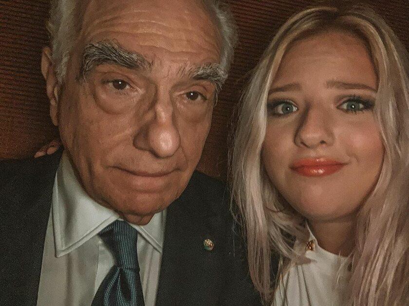 Francesca Scorsese z ojcem