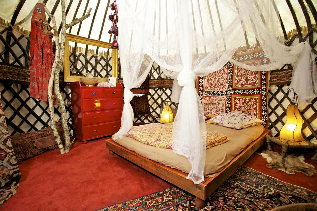 Afgańska jurta... w Niemczech. Od 79$/noc