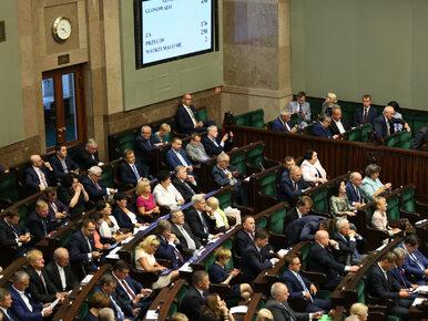 """Bez porozumienia w sprawie kar dla posłów. """"Parlament to nie miejsce dla..."""