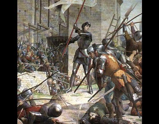12 października 1428 - 8 maja 1429 Oblężenie Orleanu. Punkt zwrotny wojny   stuletniej pomiędzy Francją a Anglią. (fot. domena publiczna)