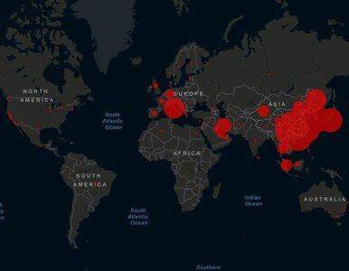 Mapa koronawirusa. Gdzie choroba jest już obecna i jak się rozprzestrzenia?