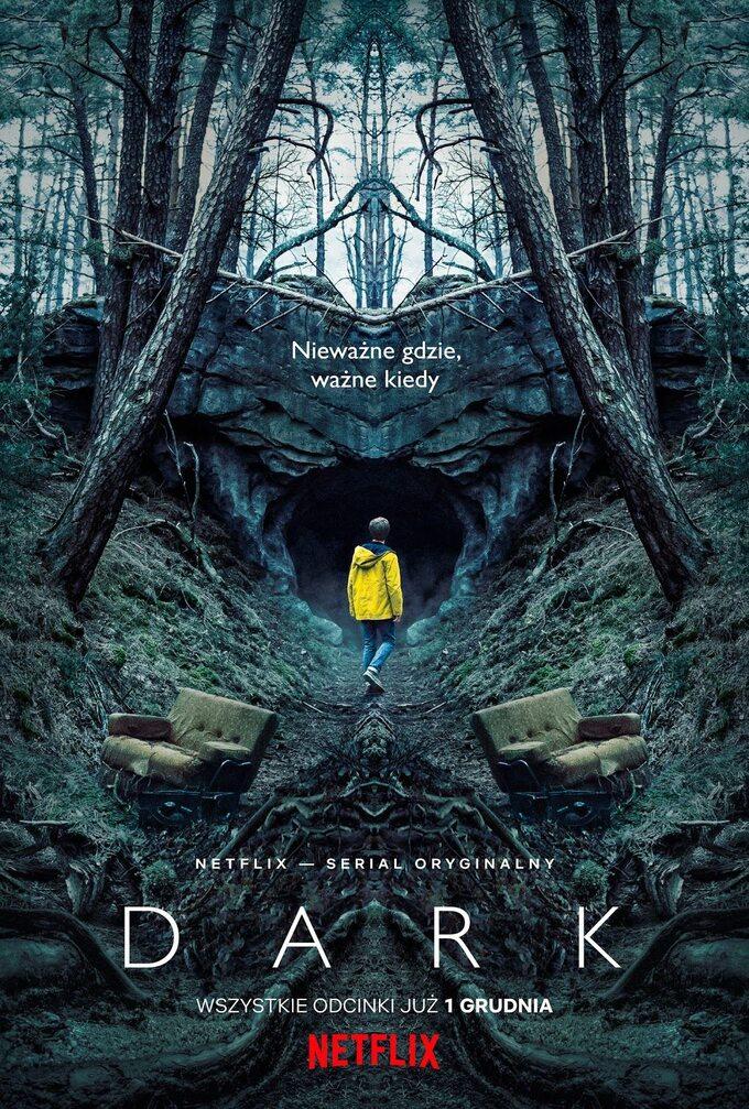 """plakat serialu """"DARK"""" (2017)"""