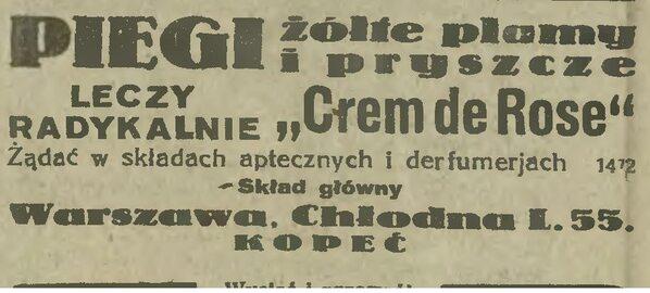 Reklama przedwojenna