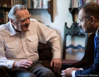 Prezydent Andrzej Duda odwiedził Jana Olszewskiego