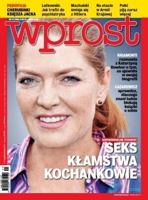 Okładka tygodnika Wprost nr 41/2013 (1598)