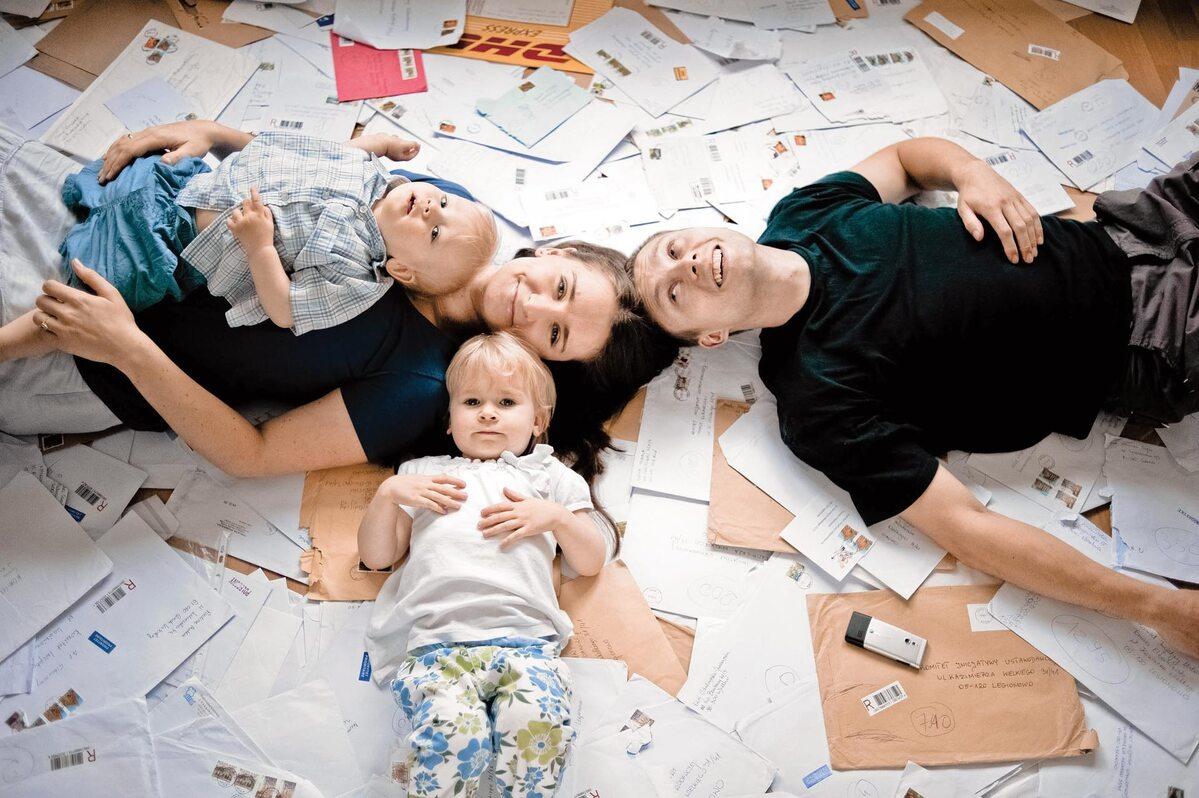 Rodzina Elbanowskich (fot.Filip Klimaszewski/Agencja Gazeta)