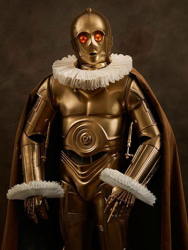 C-3PO, Fot. Sacha Goldberger / Facebook