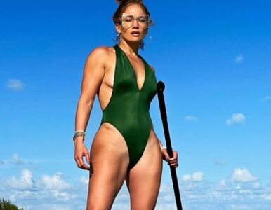 51-letnia Jennifer Lopez i sekret jej fit sylwetki: Ciężko nad tym pracuję