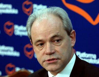 Szejnfeld broni partyjnego kolegi przed... kolegą z partii