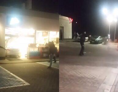 """Rzecznik policji komentuje interwencję na stacji benzynowej. """"Bada to..."""