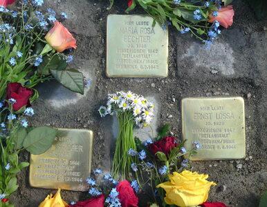 W Berlinie skradziono kamienie upamiętniające ofiary nazizmu....