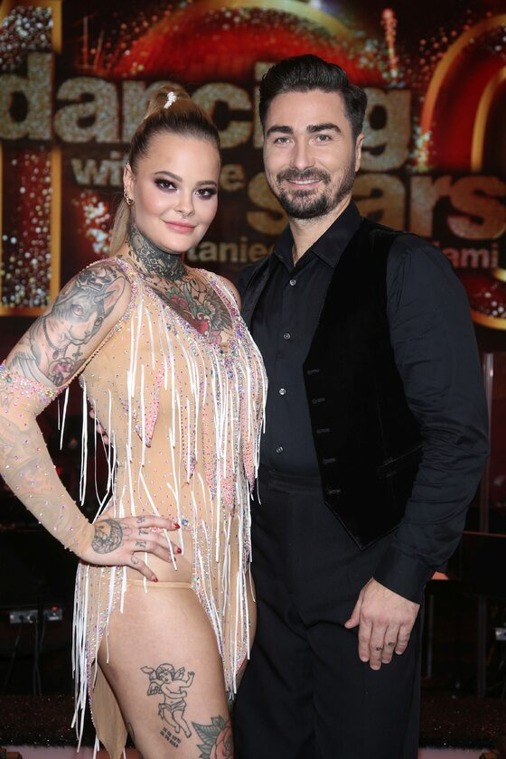 Monika Miller i jej taneczny partner, Jan Kliment