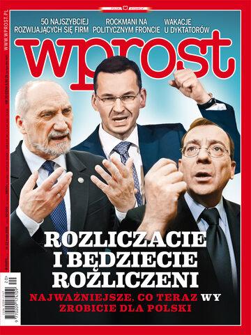 Okładka tygodnika Wprost nr 20/2016 (1736)