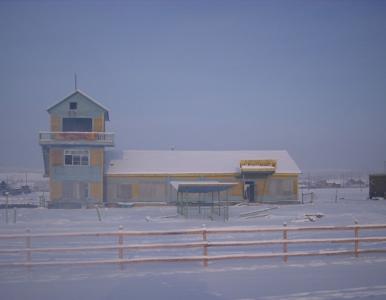 Syberia. Notuje się tam prawie -70 st. C. Teraz padł tam rekord ciepła