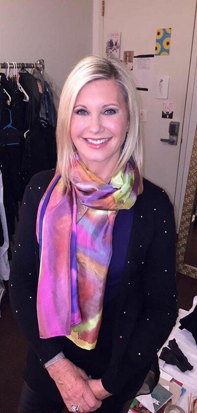 Olivia Newton-John w 2015 roku