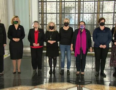 """Posłanki Lewicy milcząco zaprotestowały po wyroku TK. """"Słowa byłyby zbyt..."""