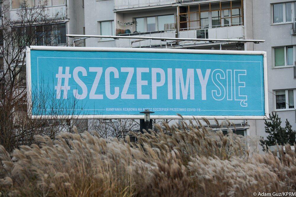 Billboard kampanii #SzczepimySię