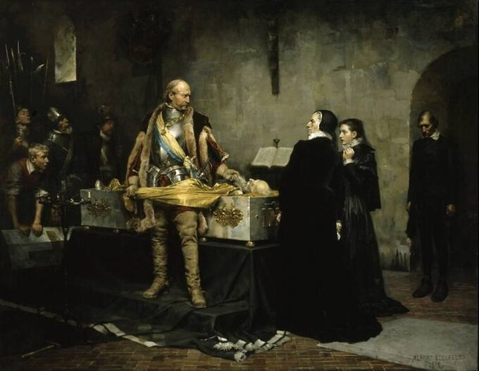 Karol Sudermański bezcześci zwłoki Klasa Fleminga, namiestnika Finlandii wiernego Zygmuntowi III