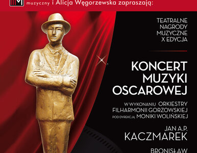 Koncert Muzyki Oscarowej - Teatralne Nagrody Muzyczne im. Jana Kiepury