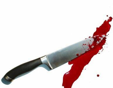 Poszedł na spacer z 12 cm. nożem wbitym w głowę