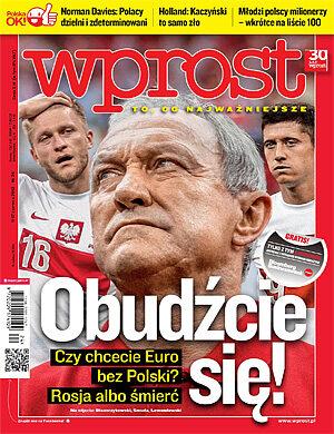 Okładka tygodnika Wprost nr 24/2012 (1530)