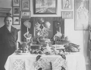 Przedwojenna święconka Pani Elżbiety. Tak wyglądał stół wielkanocny w...
