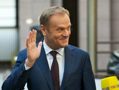 """Kolejne europejskie stolice deklarują poparcie dla Donalda Tuska. """"To..."""