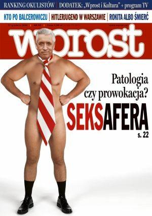 Okładka tygodnika Wprost nr 50/2006 (1252)