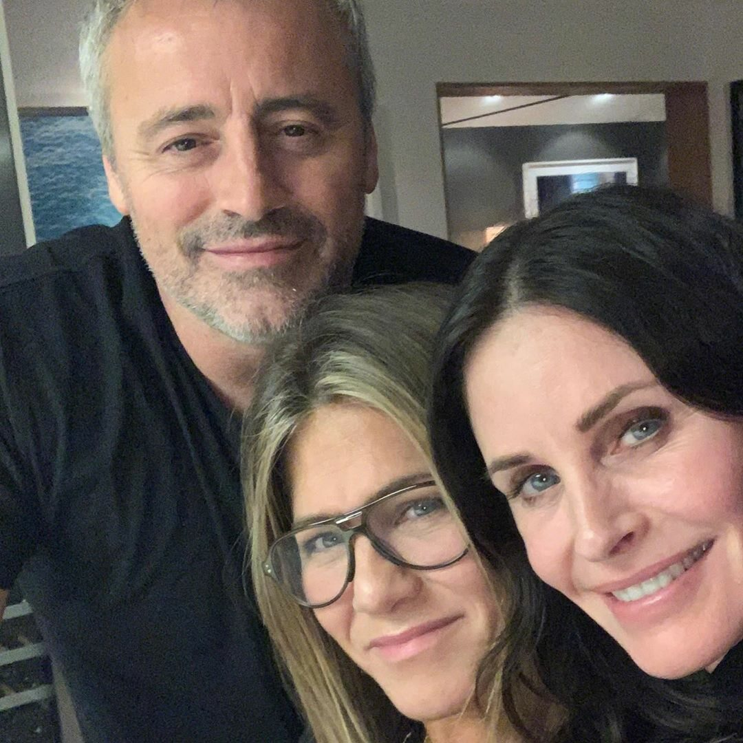 Courtney Cox, Matt LeBlanc i Jennifer Aniston