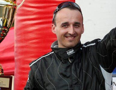 Robert Kubica wypadł z trasy